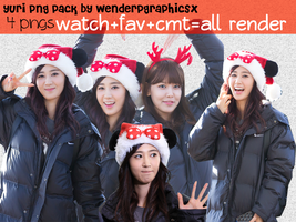 |Pack PNG| Yuri SNSD/GirlsGeneration by Wenderpgraphicsx