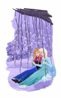 Frozen: On a Swing by tsukizu