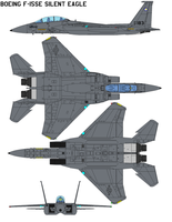 Boeing F-15SE Silent Eagle by bagera3005