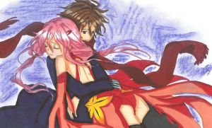Guilty Crown:Shu X Inori by ClaireRoses