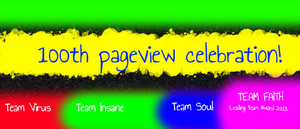 100th pageview celebration! by Xx-Yuri-xX
