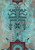 Islamic art by bluemo0on