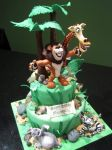 Madagascar Cake by Sliceofcake