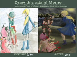 Before and After Meme- Tokyo Mew Mew by Rachel-angelhero