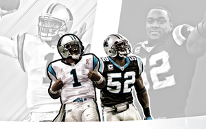 cam newton jon beason wallpaper 1 by jb-online