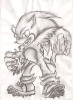 The Werehog by SpyxedDemon