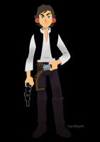 Han Solo by roemesquita