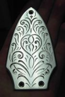 Engraved Truss Rod Cover by Woolf20