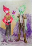 Starbound Drawing by alphaess-n-flick