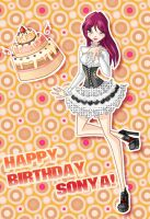 Sonya Happy Birthday by fantazyme