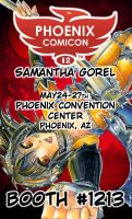 Phoenix Comic Con 2012 Announcement by Mireielle