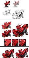 Sazabi Walkthrough by aminkr