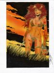 red sonja color2 by amorimcomicart