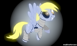 Five Night's At AJ's Derpy Mangles! by muffinwhovian