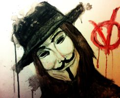 V for Vendetta by Charoula