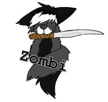 Zombi Badge [Prize - Zombi-Slayer] by CrypticGrin
