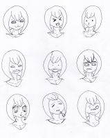 Lined - Bubblegum expressions Four by Oiiou