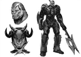 Transformers Sketches by ManuelDupong