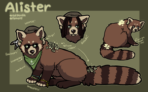 nil contest - Alister by pandapoots