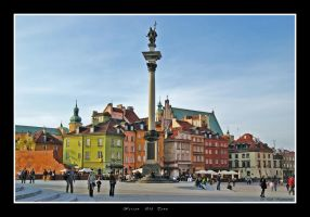 Warsaw - Old Town by CitizenFresh