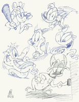 Sketches 10/6/13 by dogatemyshrooms