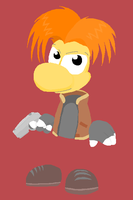 Rayman as Leon by PechaScarfRider