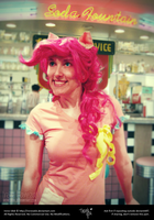 Pinkie Pie - MLP:FiM - Soda Fountain by IreneUbik