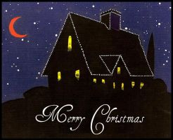 Black Christmas Card by deviantmike423