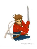 tales of symphonia - lloyd by xrninja