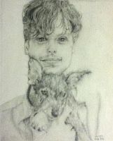 Matthew Gray Gubler by Qtfiddler
