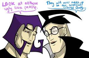Dib and Gaz HANDSOME Meme by enigmatia