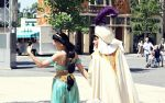 Aladdin and Jasmine by Mlle-Dreamer