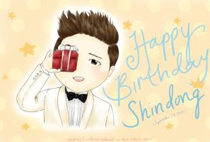 Happy Birthday Shindong oppa! by Lanaleiss