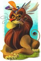 Daylight Mufasa by galgard