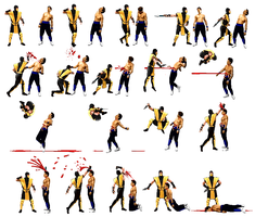 Scorpion's Spear Rage Fatality by jc013