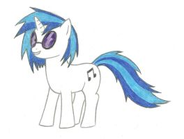 Vinyl Scratch by tdwbrisingr