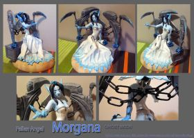 Ghost bride Morgana sculpture by Zy0n7