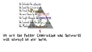 Harry Potter: By the Years by XtremeTakeoff