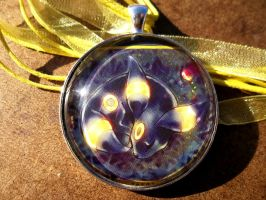 Special Commission: Karen's Umbreon Pendant by BlackManaBurning
