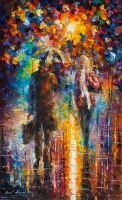 After Work by Leonid Afremov by Leonidafremov