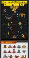 Space Shooter Creation Kit by pzUH