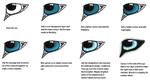 How I do eyes in Gimp by Falynnn
