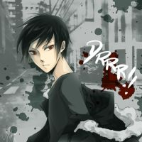 DRRR!! - 1.5 hour doodle Izaya by pianopear12