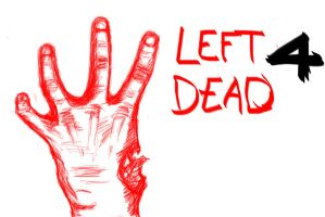 Left 4 Dead Hand sketch by Shadow-chan15