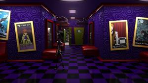 The Teleporter, The Cinema Scene by SlotheriuS