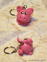 A little pig for my boyfriend :P by AnimalisCreations