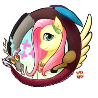 Fluttershy - The Scepter of Harmony Concept by norang94