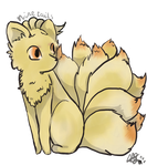 Ninetails by Crystalfeather859