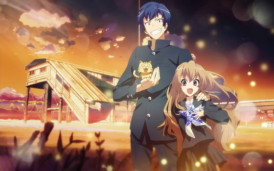 Toradora wallpaper by Woodpecker300