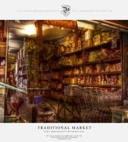 Traditional market - HDR by pepelepew251